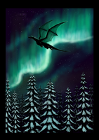 Cold northern light by Niicchan
