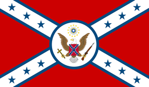 Alt Confederate American Flag by ColumbianSFR