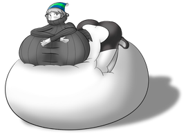 AT: Marshmallow puff by SongOfSwelling