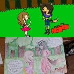 Kayce meets Sayama (Before and After) by KayceInk