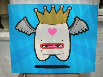 Queen Cheeba canvas by JamFactory