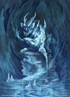 Bevus: Ice Imp by MIKECORRIERO