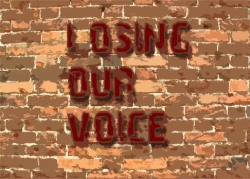 Losing Our Voice by outsiderdesigns