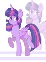 Collab - Twilight Sparkle by MinervaOvO