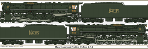 Heartland and Valley Class J 4-8-4 by Lapeer