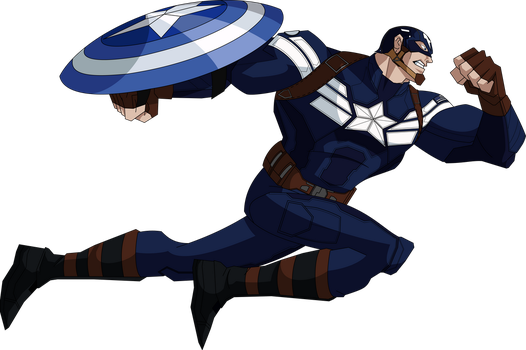 Captain America TWS (AEMH Style) by MAD-54