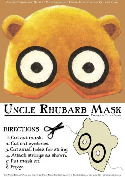 'Uncle Rhubarb' Mask by Mr-Sisson