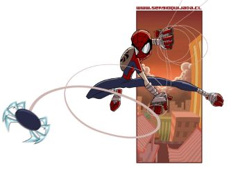 - Spiderman - Mangaverse by sergio-quijada