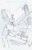 Dirk Gently's Holistic Detective Agency pencils by RobertHack