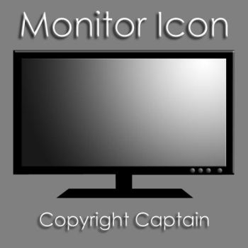 Monitor Icon by CaptTechDude514