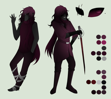 Dream Stealer Ref Sheet: Robin Sauvage by King-of-Creeps