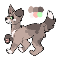 Daily adopt 7 | setprice - 30 points | closed by Olivesadoptables101