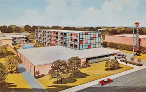Vintage Motels - Downtowner, Greenville MS by Yesterdays-Paper