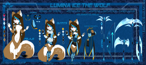 .: +REF 2017+ - Lumina ice the wolf :. by Lumi-Art