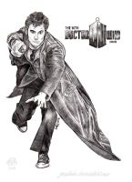 The 10th Doctor Who by JUMBOLA