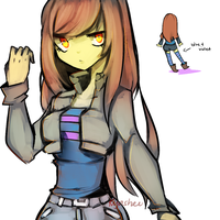 Swag!Frisk reference by kiacii-official