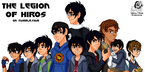 Legion of Hiros (Tumblr Blog) by Aileen-Rose