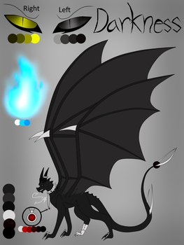 Darkness Character Design(Beast Form) by StarlightHL