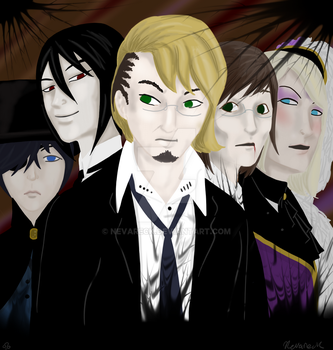 Ten Thousand Souls and a Fallen Shinigami by Nevareck