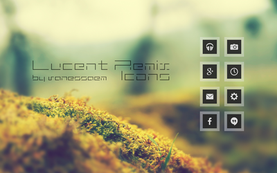 Lucent Remix Icons by vanessaem
