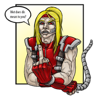 Fanart: Omega Red by Bampire