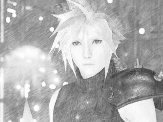 Cloud Strife III by Akiza-chan18