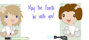 MAY THE FOURTH BE WITH YOU by MadWhovianWithABox