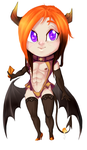 Teeny Incubus Pyre by Kigurou