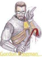 Gordon Freeman by CarolaFunder