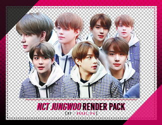 82/NCT Jungwoo - PNG Render Pack by kkkai