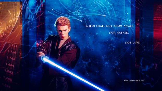 Star Wars Anakin Skywalker 02 by HappinessIsMusic