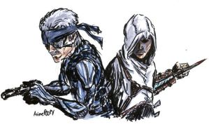 Metal Gear Creed by AnimePOOPY