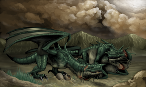 the wyvern brothers by hail-the-oblivious