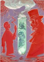 Dr. Jekyll Mr. Hyde by German-Ponce