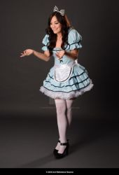 Stock:  Celeste as Alice in Wonderland by ArtReferenceSource