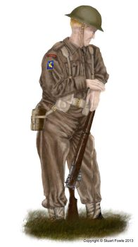 British Infantry c1944 by cpart