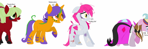Vocaloid Songs Themed Ponys Adopts Part 1-CLOSED- by GalaxyAcero