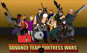 Advance Team Fortress War by Sourvector