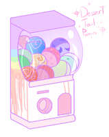 MLP Dessert Tails Gacha - Open 4/6 by Brownie-Adopts