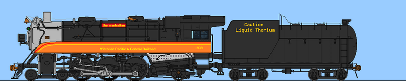 VPCRR Thorium Pacific by steamtheboxtank