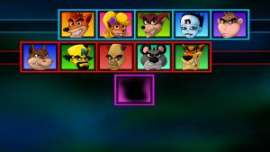 Crash Bash - Choose your player! by Lurking-Leanne