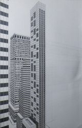 New York City - disegno in esecuzione 4^ by LittleLiuk