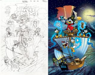 Uncle Scrooge #2 (#406) Cover: 'Shiver Me Timbers' by jongraywb