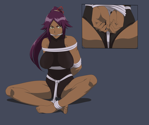 Commission - Yoruichi by Ktu-lu