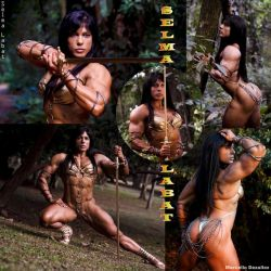 FANTASTIC PHYSIQUE FIGHTER Selma Labat by zenx007