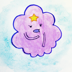 Lumpy Space Princess - Lump Off! by rum-and-ginger
