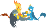 Baby, you're in for double the laughter by Porygon2z