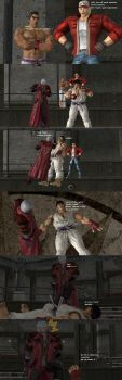 Ryu asks Dante a Question by Dante-564