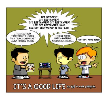 It's a Good Life 01.01.12 by ninjaink