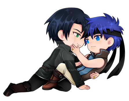 C :: Zelgius and Ike by Obily